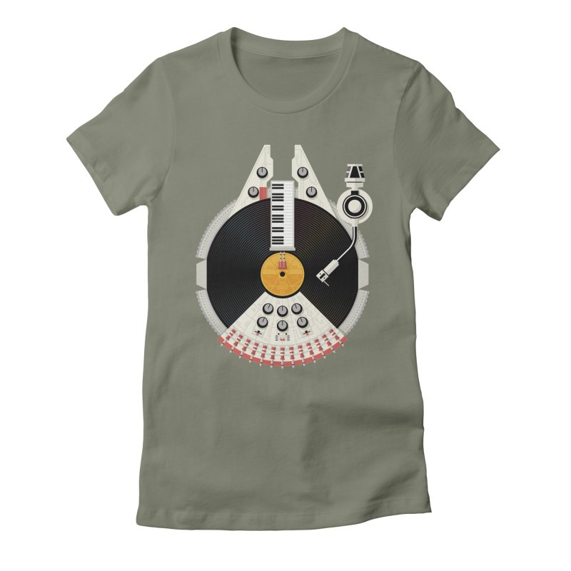 Smuggler Women's Fitted T-Shirt by Tony Bamber's Artist Shop