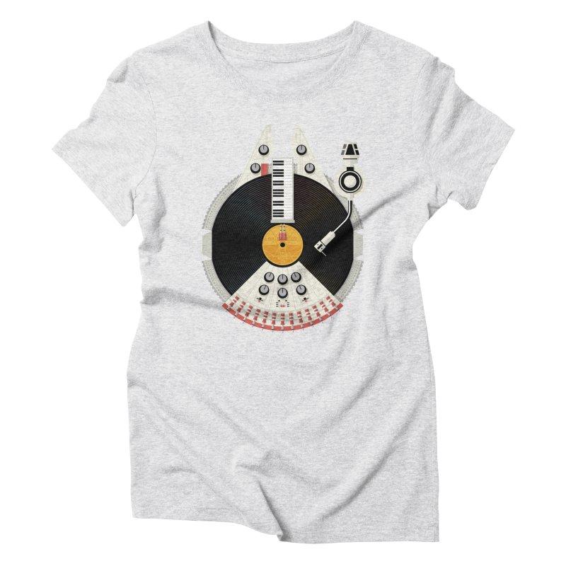 Smuggler Women's Triblend T-Shirt by Tony Bamber's Artist Shop