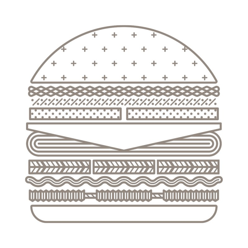 Burger Time None  by Tony Bamber's Artist Shop