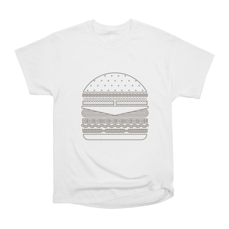 Burger Time Women's Classic Unisex T-Shirt by Tony Bamber's Artist Shop