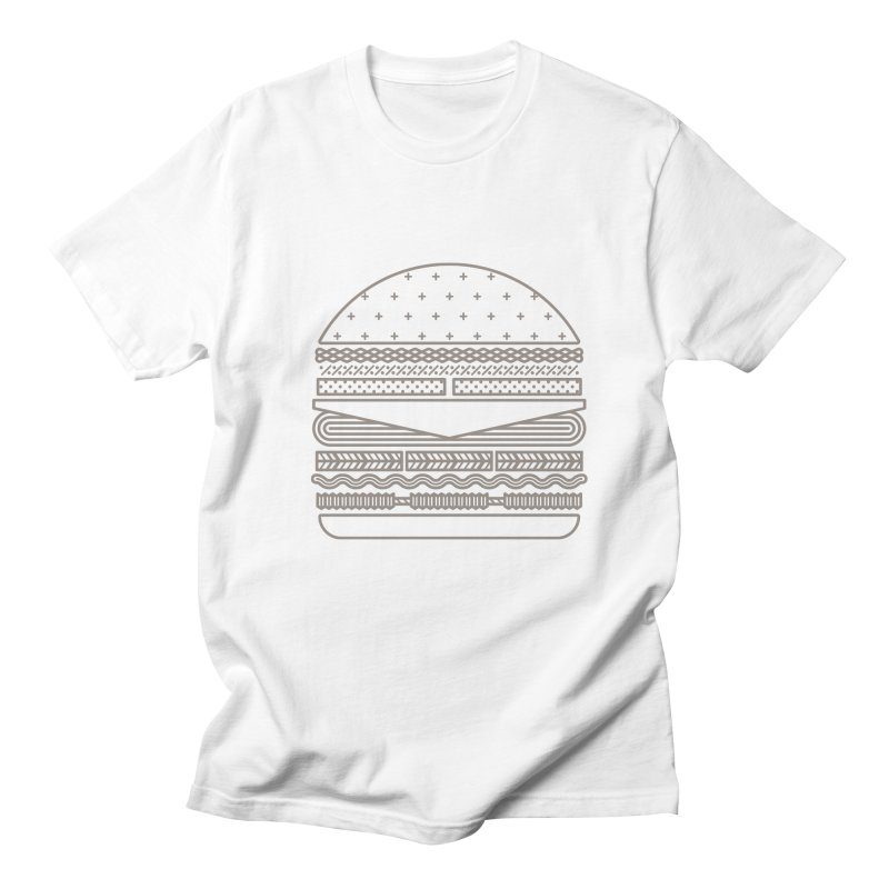 Burger Time Men's Regular T-Shirt by Tony Bamber's Artist Shop