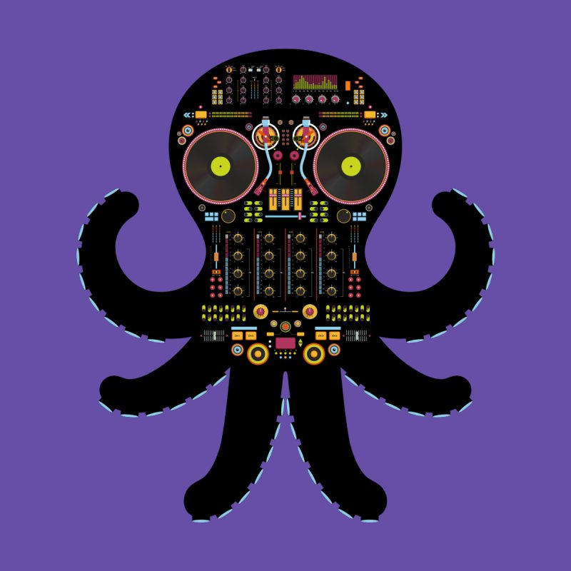 DJ Octopus Men's T-Shirt by Tony Bamber's Shop