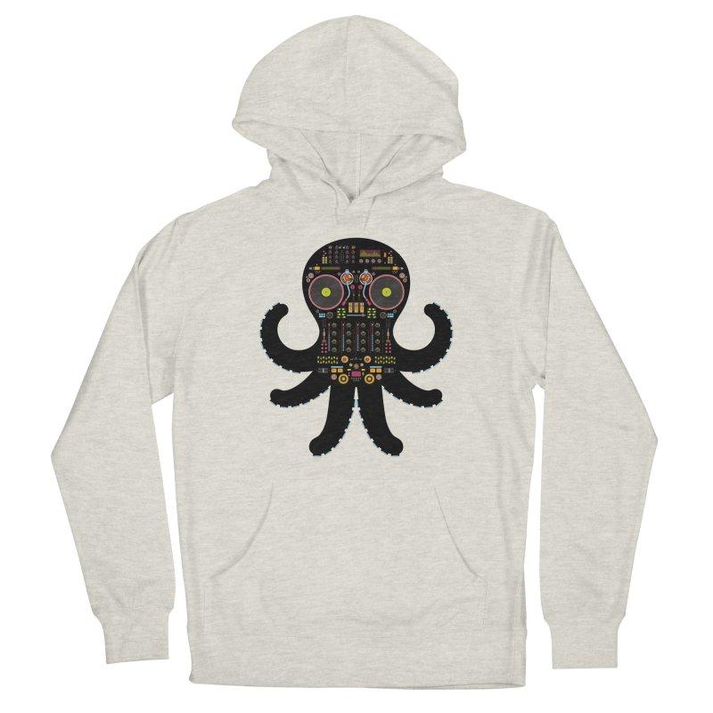 DJ Octopus Men's Pullover Hoody by Tony Bamber's Shop