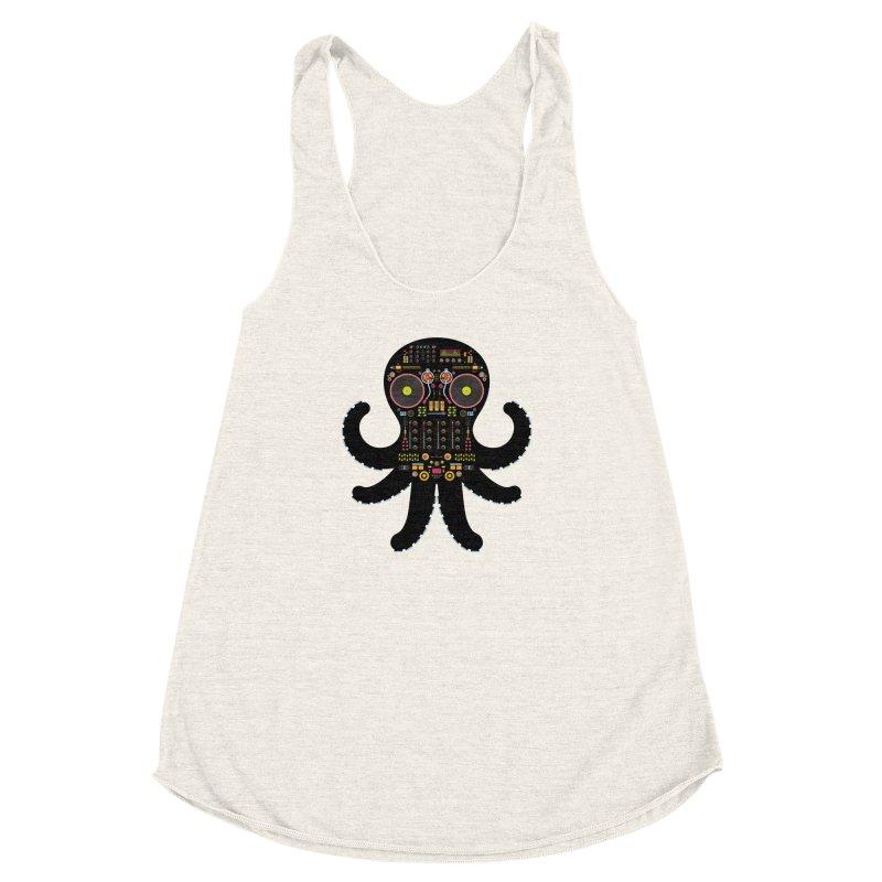 DJ Octopus   by Tony Bamber's Artist Shop