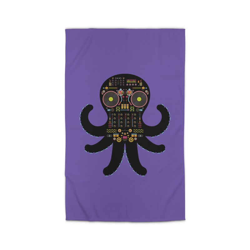 DJ Octopus Home Rug by Tony Bamber's Shop
