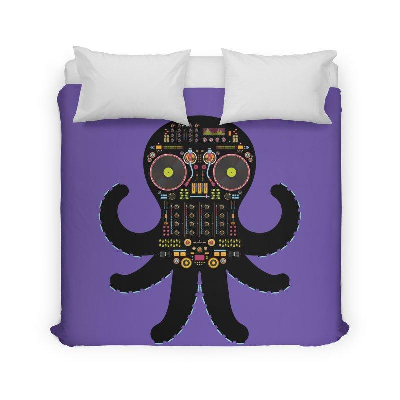 DJ Octopus Home Duvet by Tony Bamber's Shop