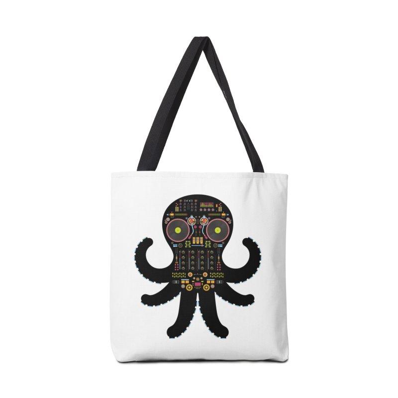 DJ Octopus Accessories Bag by Tony Bamber's Artist Shop