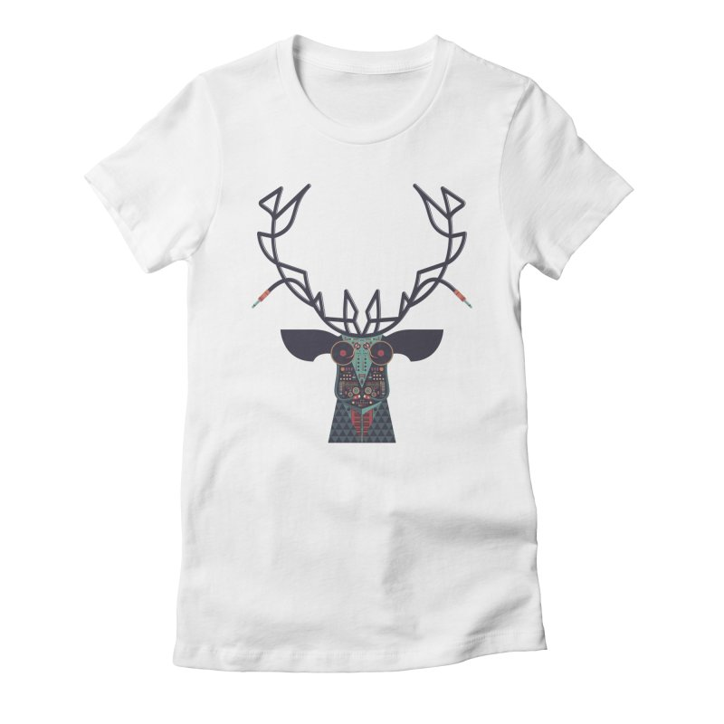 DJ Deer Women's T-Shirt by Tony Bamber's Shop