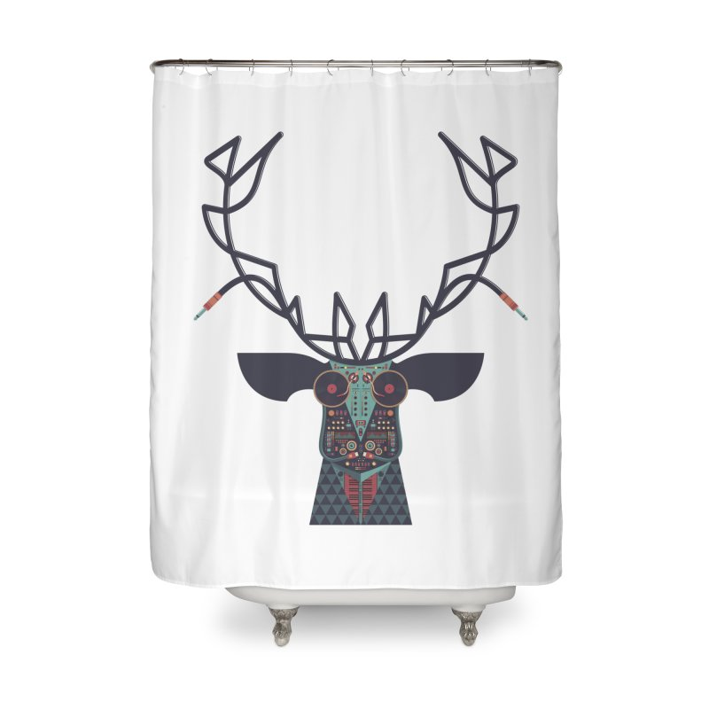 DJ Deer Home  by Tony Bamber's Artist Shop