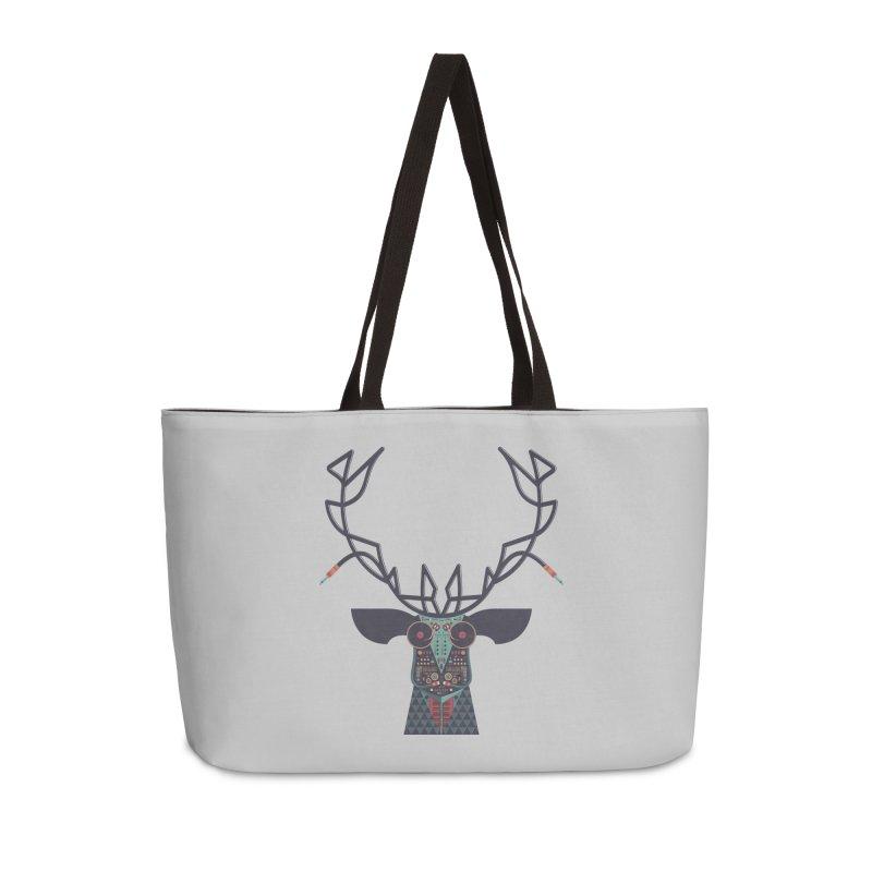 DJ Deer Accessories Weekender Bag Bag by Tony Bamber's Shop