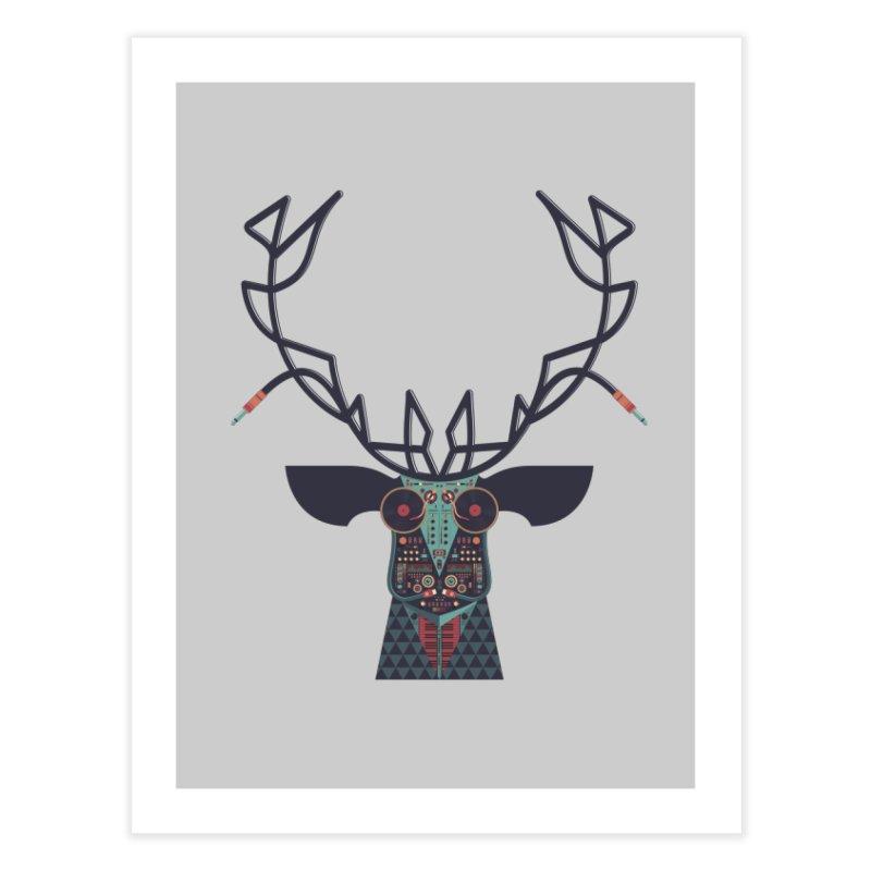 DJ Deer Home Fine Art Print by Tony Bamber's Shop