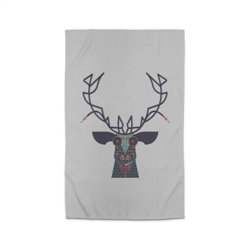 DJ Deer Home Rug by Tony Bamber's Shop
