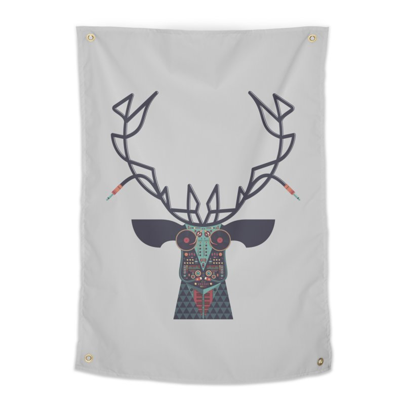 DJ Deer Home Tapestry by Tony Bamber's Shop