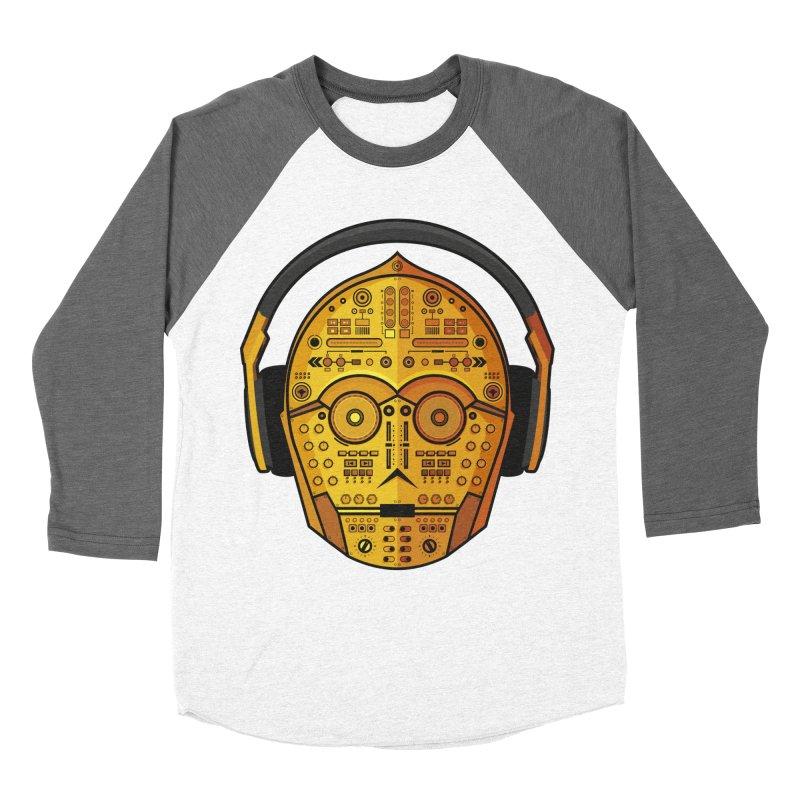 DJ-3PO Women's Longsleeve T-Shirt by Tony Bamber's Artist Shop