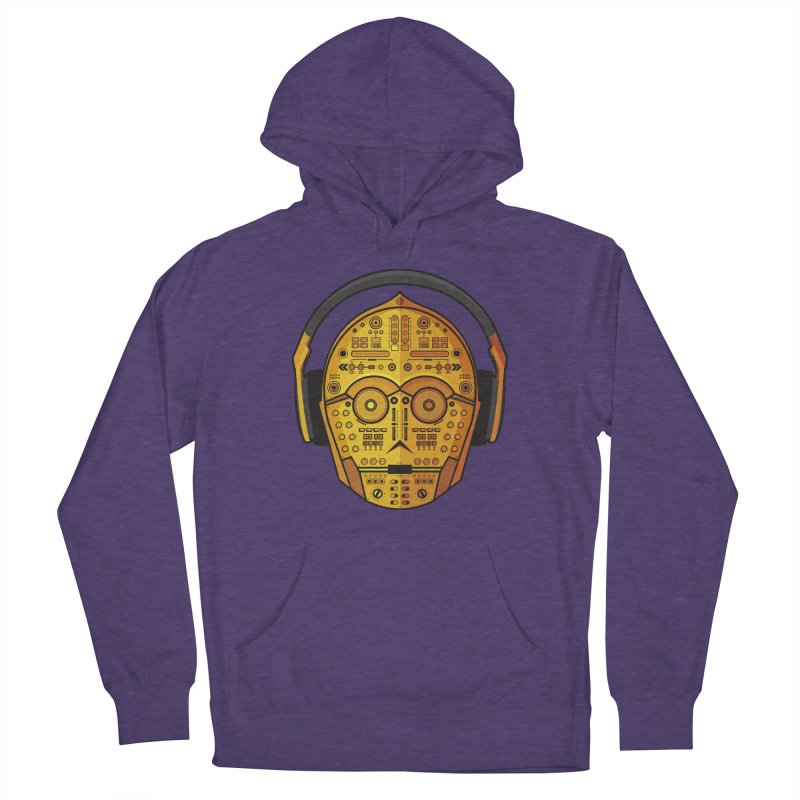 DJ-3PO Women's French Terry Pullover Hoody by Tony Bamber's Shop