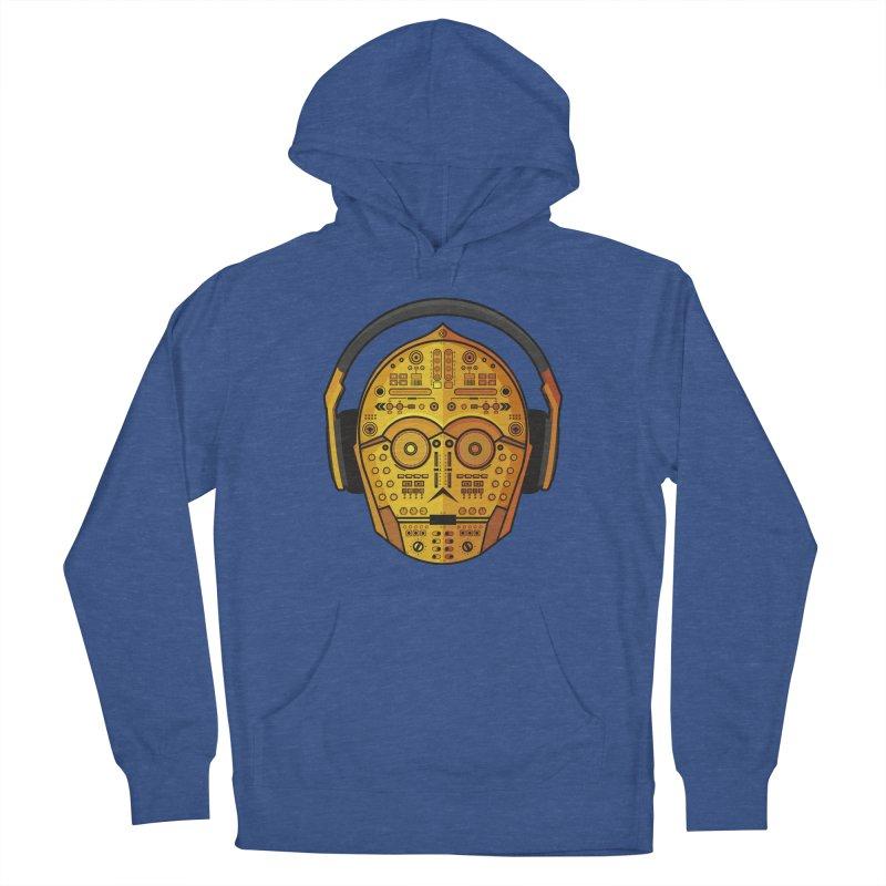 DJ-3PO Men's Pullover Hoody by Tony Bamber's Shop