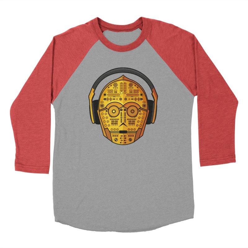 DJ-3PO Women's Baseball Triblend Longsleeve T-Shirt by Tony Bamber's Shop