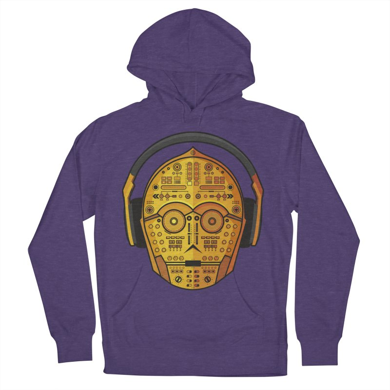 DJ-3PO Men's Pullover Hoody by Tony Bamber's Artist Shop