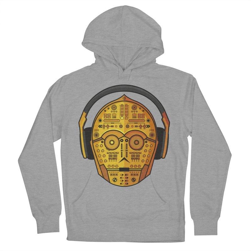 DJ-3PO Men's Pullover Hoody by Tony Bamber's Artist Shop