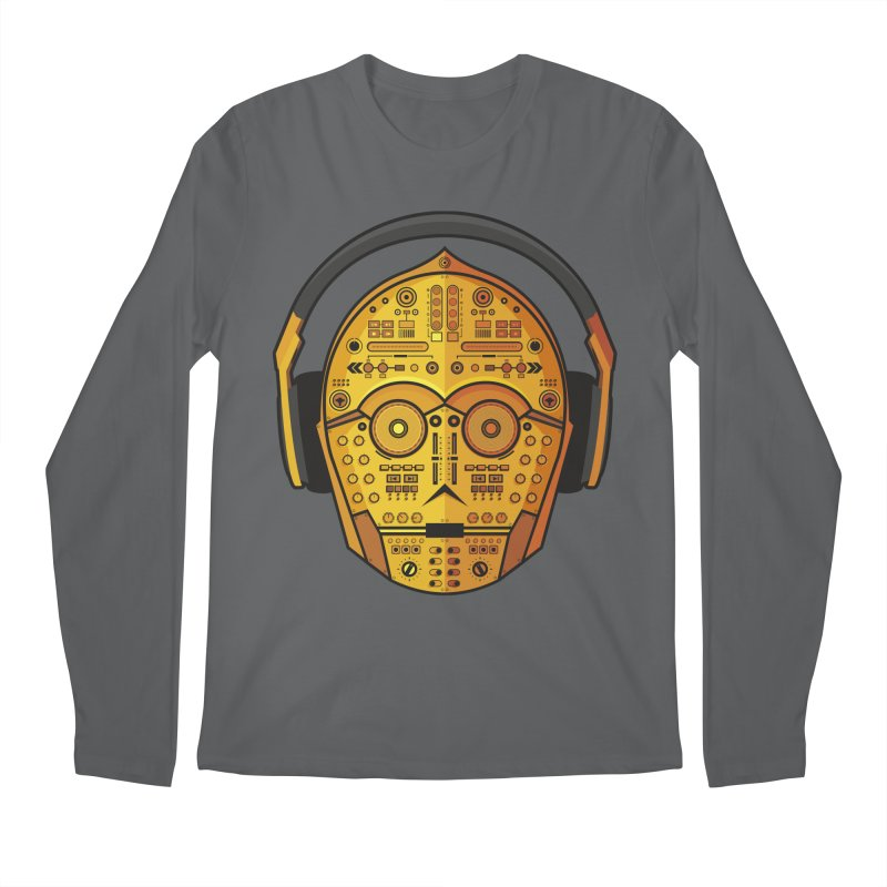 DJ-3PO Men's Longsleeve T-Shirt by Tony Bamber's Shop