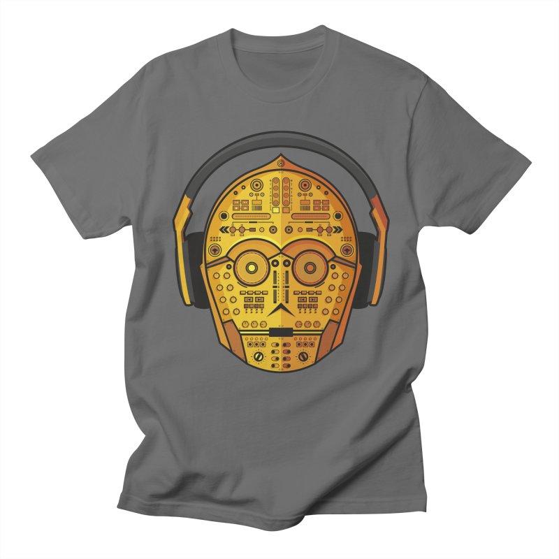 DJ-3PO Men's T-Shirt by Tony Bamber's Shop