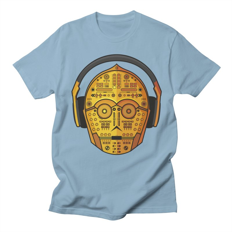 DJ-3PO Men's Regular T-Shirt by Tony Bamber's Shop