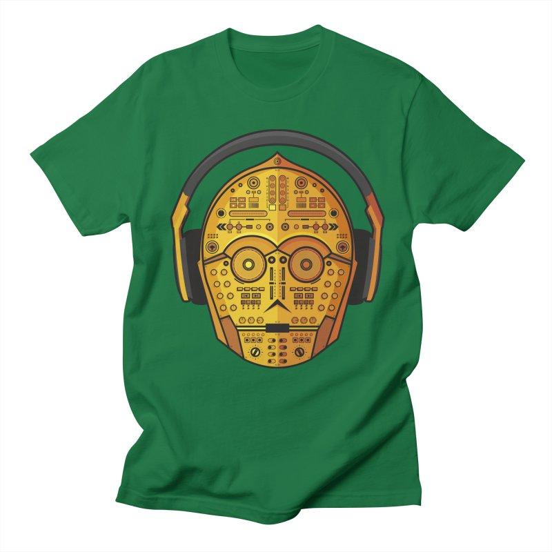 DJ-3PO Men's T-shirt by Tony Bamber's Artist Shop