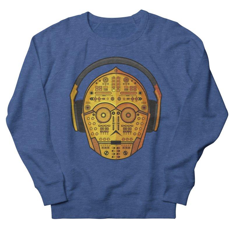 DJ-3PO Women's French Terry Sweatshirt by Tony Bamber's Artist Shop