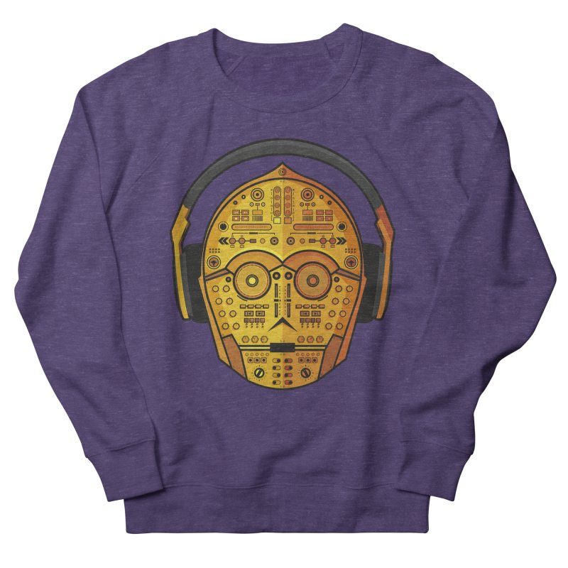 DJ-3PO Men's Sweatshirt by Tony Bamber's Artist Shop