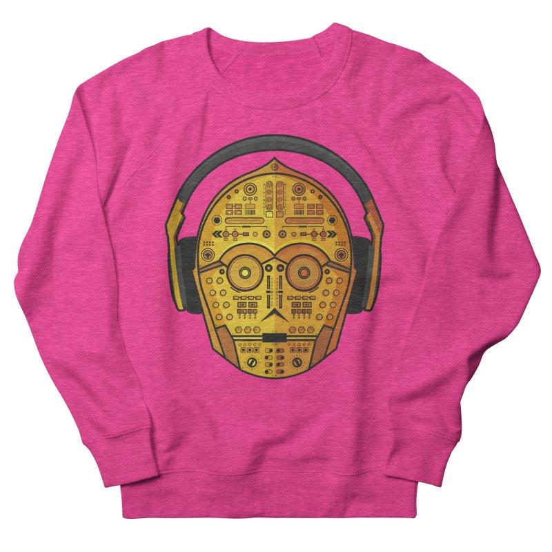 DJ-3PO Men's Sweatshirt by Tony Bamber's Artist Shop