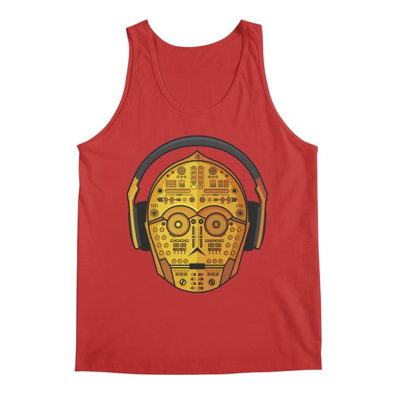DJ-3PO Men's Regular Tank by Tony Bamber's Shop