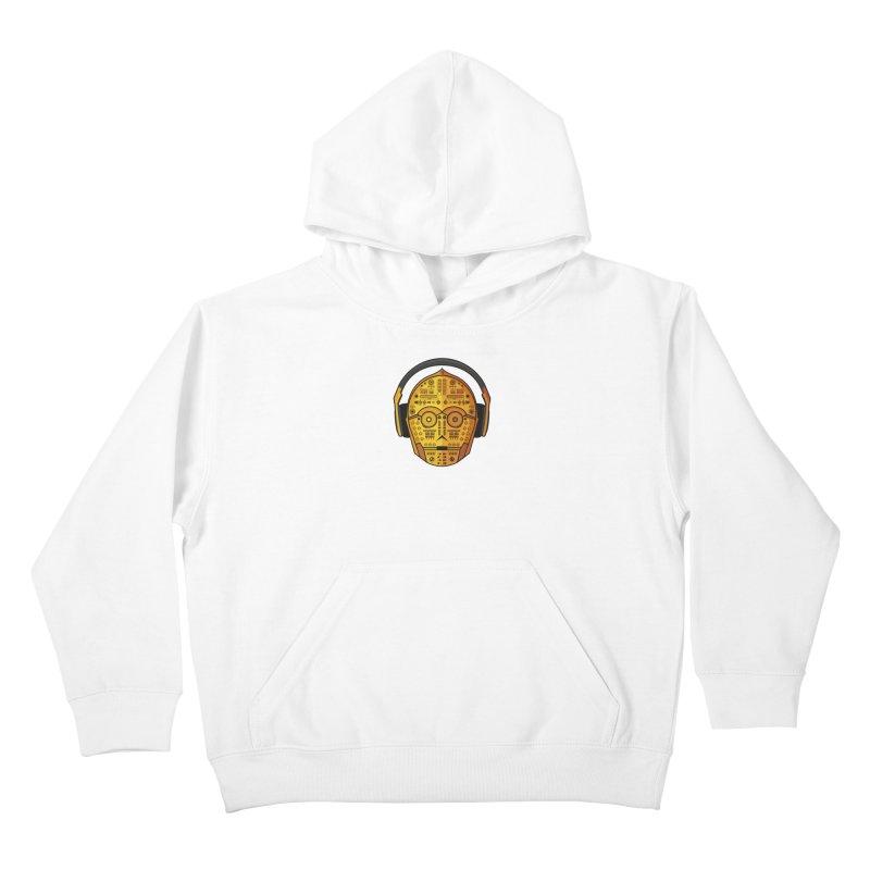 DJ-3PO Kids Pullover Hoody by Tony Bamber's Shop