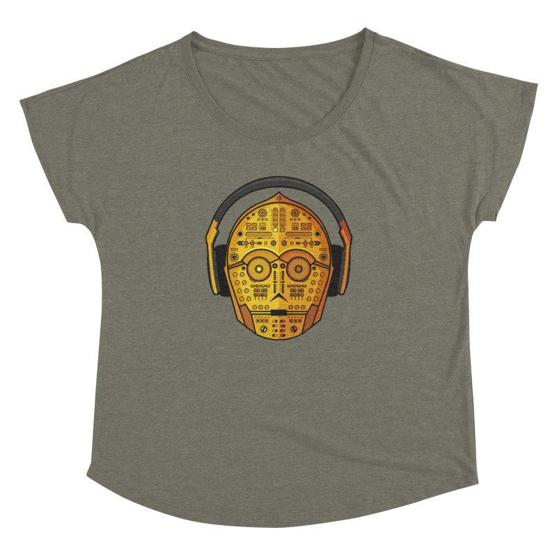 DJ-3PO Women's Dolman by Tony Bamber's Artist Shop