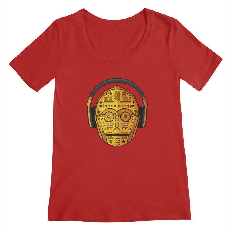 DJ-3PO   by Tony Bamber's Artist Shop