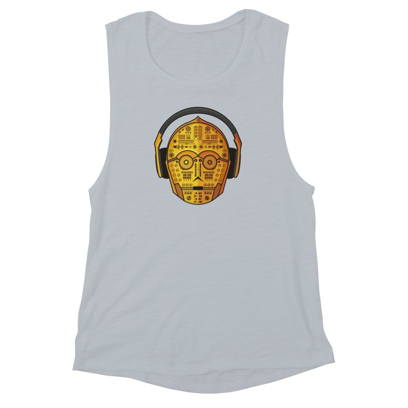 DJ-3PO Women's  by Tony Bamber's Artist Shop