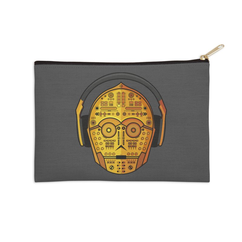 DJ-3PO Accessories Zip Pouch by Tony Bamber's Shop