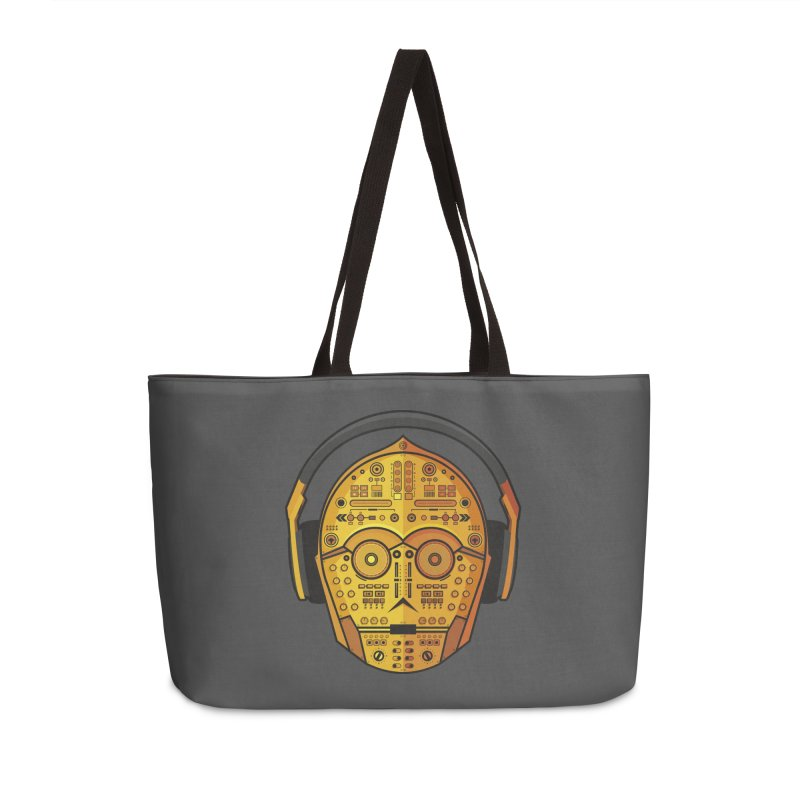 DJ-3PO Accessories Weekender Bag Bag by Tony Bamber's Shop