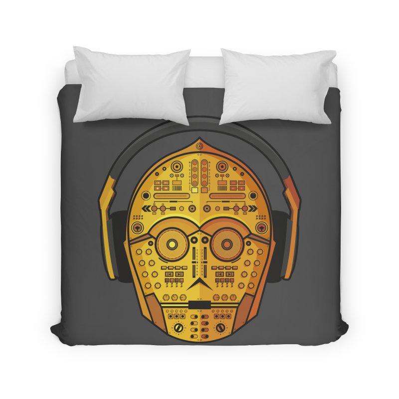 DJ-3PO Home Duvet by Tony Bamber's Shop