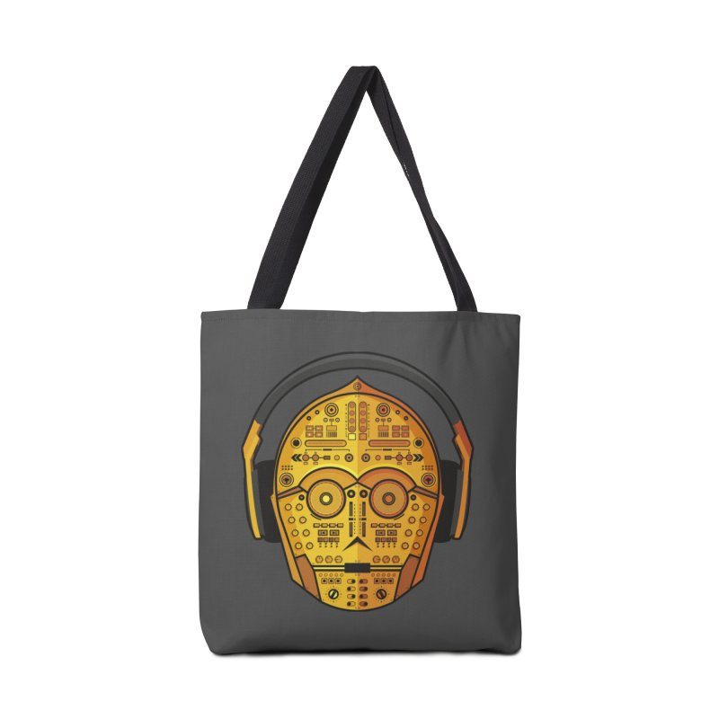DJ-3PO Accessories Tote Bag Bag by Tony Bamber's Shop