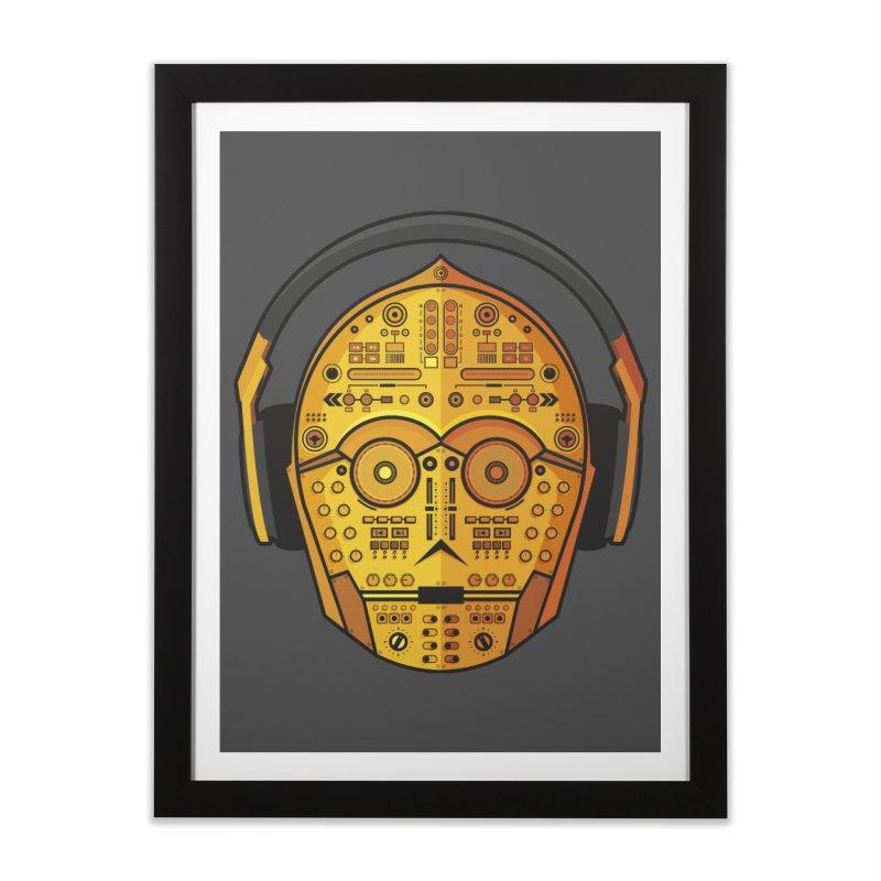 DJ-3PO Home Framed Fine Art Print by Tony Bamber's Shop