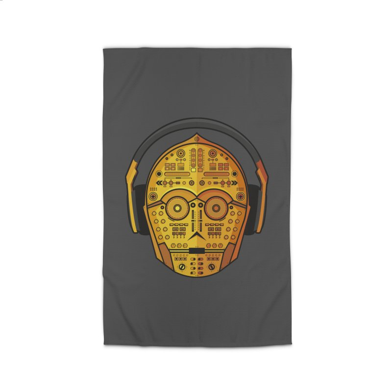 DJ-3PO Home Rug by Tony Bamber's Shop