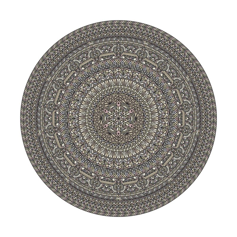 Mandala No. 13 Home Shower Curtain by Tony Bamber's Artist Shop