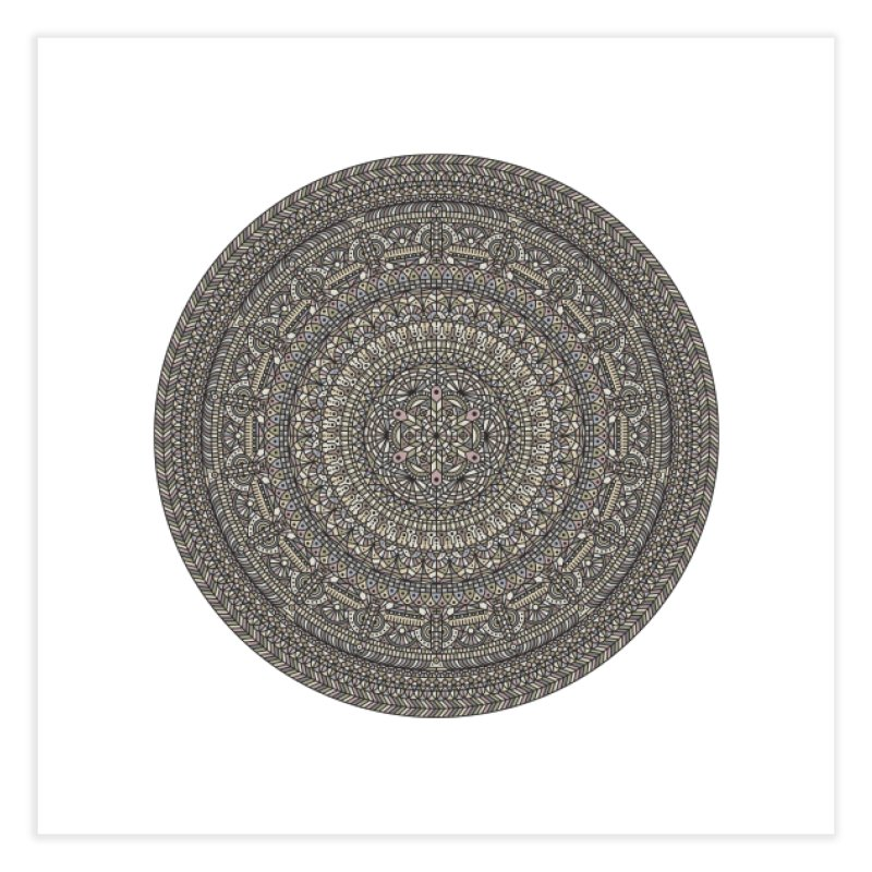 Mandala No. 13 Home Fine Art Print by Tony Bamber's Artist Shop