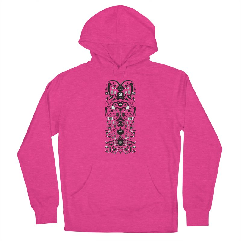 Hell Women's French Terry Pullover Hoody by Tony Bamber's Shop