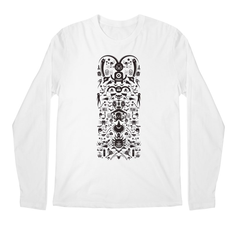 Hell Men's Longsleeve T-Shirt by Tony Bamber's Artist Shop