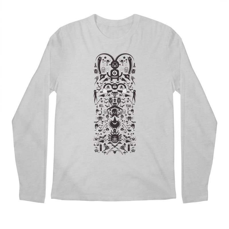 Hell Men's Regular Longsleeve T-Shirt by Tony Bamber's Artist Shop