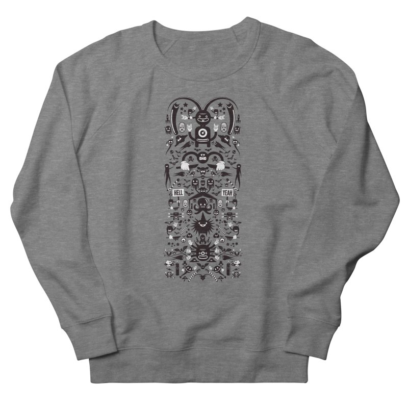 Hell Women's French Terry Sweatshirt by Tony Bamber's Shop