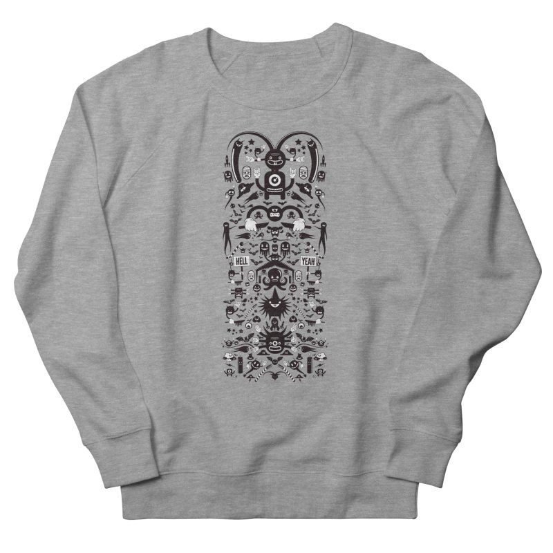Hell Men's French Terry Sweatshirt by Tony Bamber's Artist Shop