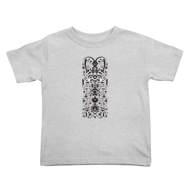 Hell Kids Toddler T-Shirt by Tony Bamber's Artist Shop