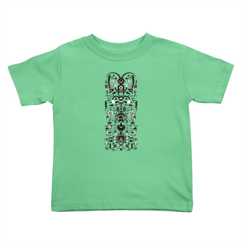 Hell Kids Toddler T-Shirt by Tony Bamber's Artist Shop